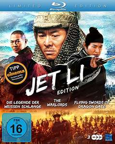 Jet Li Edition (3 Disc Set Blu-ray) für 6€ (Amazon Prime)