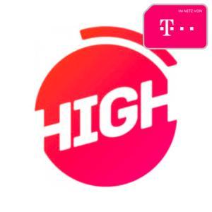 HIGH 12 LTE 50 (12GB LTE) für eff. mtl. 21,16€ mit Allnet- & SMS-Flat (Telekom-Netz, 24-Monatsvertrag)