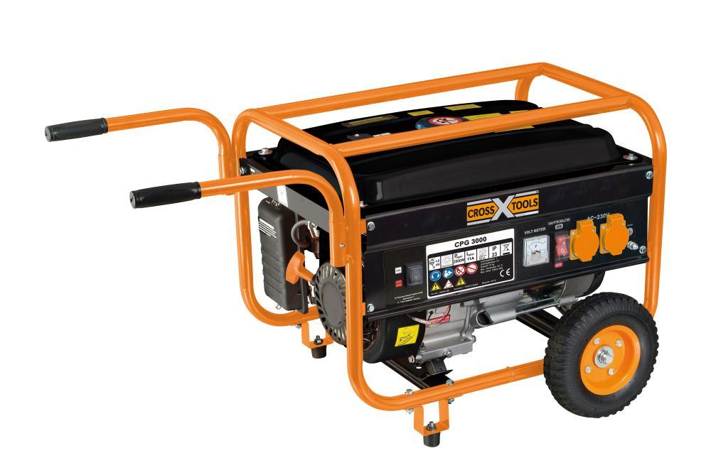 Für den kleinen Privat-Rave im Sommer: Cross Tools Stromerzeuger / Generator CPG 3000