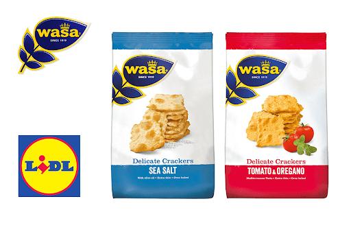 (Scondoo + Lidl) Wasa Delicate Cracker und Crisp für rechnerische 0,99 € dank Cashback