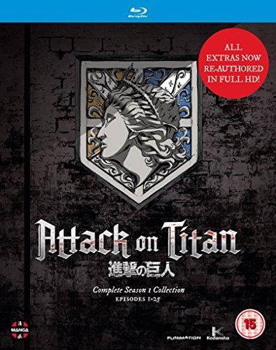 günstige Anime (Blu-rays) von Amazon UK
