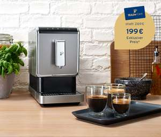 Tchibo Kaffeevollautomat »Esperto Caffè« +1 kg Tchibo Barista Kaffee