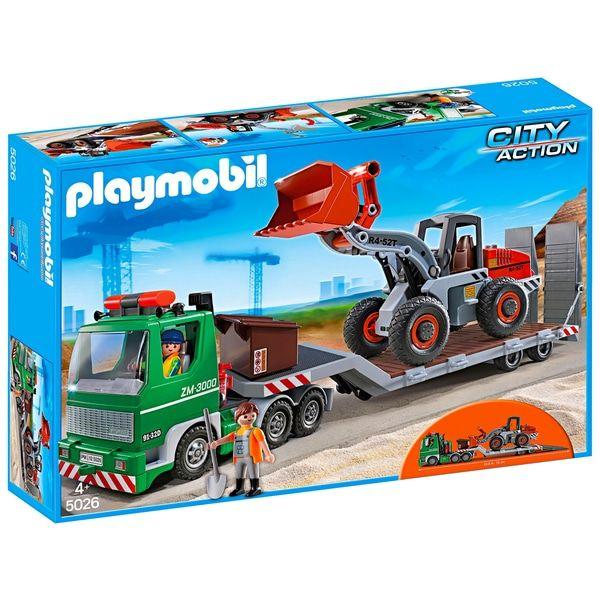 Smyths: Playmobil City Action - Tieflader mit Radlader (5026)
