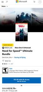[Microsoft Store US] Need for Speed™ Ultimate BUNDLE (3 Spiele)