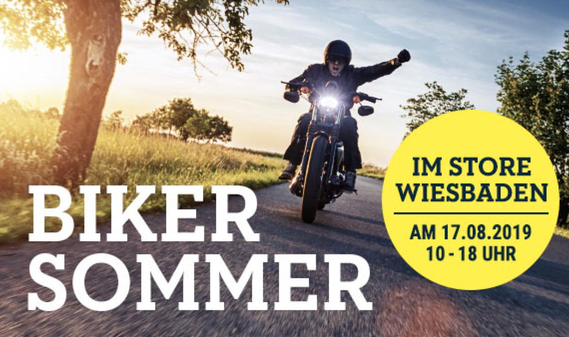 Polo Motorrad Sommerfest Wiesbaden: Kostenloses Popcorn + Sonderangebote (zB Qbag 24l Hartschalen Rucksack)