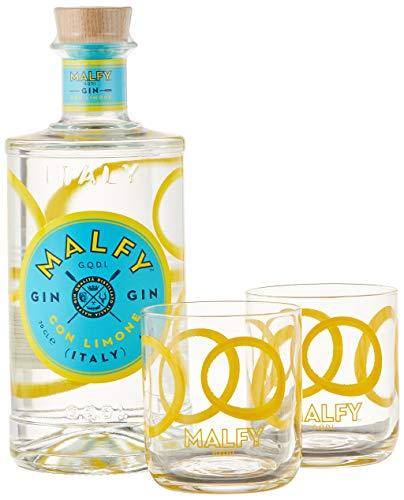 Malfy Gin con Limone + 2 Gin-Gläser