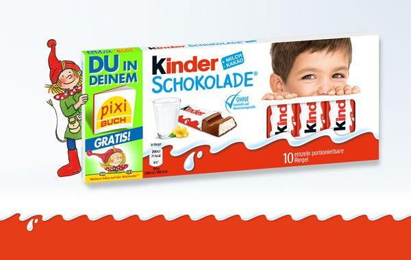GRATIS personalisiertes Pixibuch  bei Kauf von 1 Packung Kinderschokolade