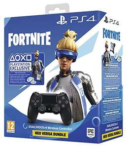 PlayStation 4 - DUALSHOCK 4 V2 Wireless Controller inkl. Fortnite Epic Neo Versa Bundle (schwarz) o. Steel Black [Real & Amazon]