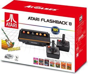 Atari Flashback 8 Retro Spielekonsole 105 Spiele + 2 Joysticks für 23,11€ (Amazon UK)