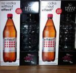 1 Flasche Three Sixty Vodka kaufen, 1l Effect Energie Gratis bei Netto City.