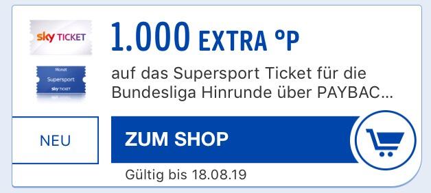 Sky Supersport Ticket 5 Monate 89,99 €