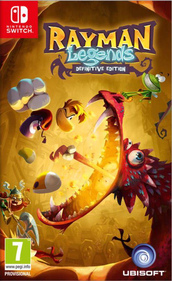 Rayman Legends: Definitive Edition (Switch) für 18,95€ (Coolshop)