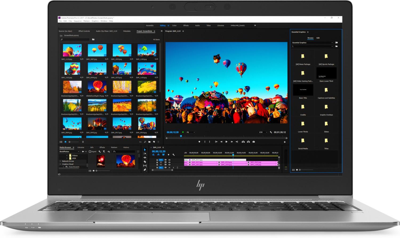 """HP ZBook 15u G5 (15.6"""", IPS matt, FHD, i7-8550U, 16GB RAM, 512GB M.2 PCIe, Radeon Pro WX 3100 2GB, TB3, 2x USB, Smartcard, Win10 Pro, 1.8kg)"""