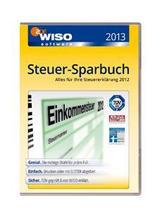 Wiso Steuer-Sparbuch 2013 als DL für 19,99€ nur heute