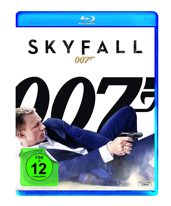 James Bond 007 - Skyfall  (Blu-ray) für 3,82€ (Dodax)