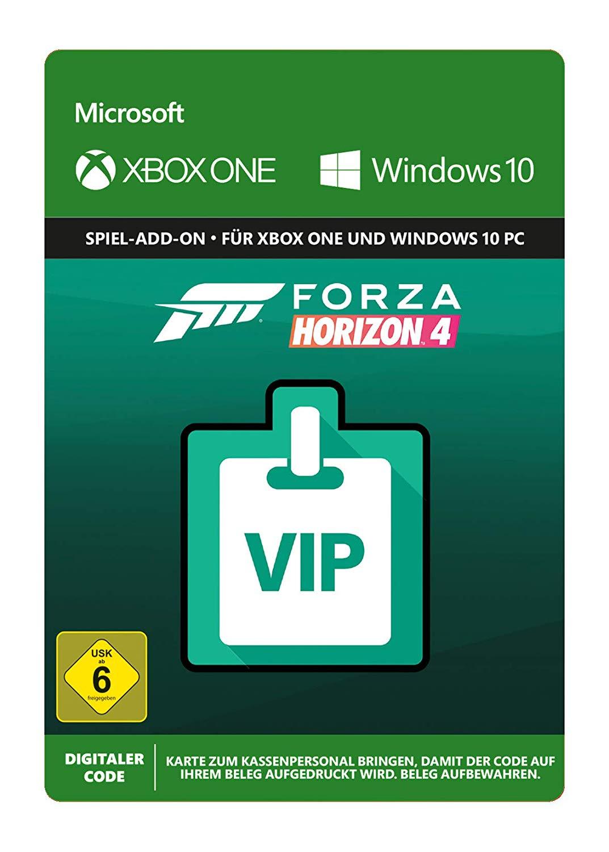 Forza Horizon 4: VIP-Mitgliedschaft & Forza Horizon 3: Hot Wheels DLC (Xbox One/PC Download Code) für je 4,99€ (Xbox Store)