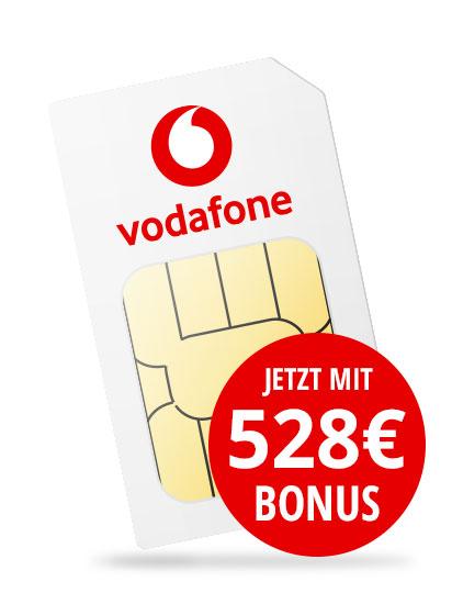Flymobile: Vodafone Smart XL (14GB LTE) Sim-Only durch einmalige Auszahlung von 528€ für eff. 19,99€/M