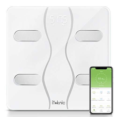 Digital Körperwaage Körperanalyse Körperfettüberwachung Bluetooth  bis 180kg
