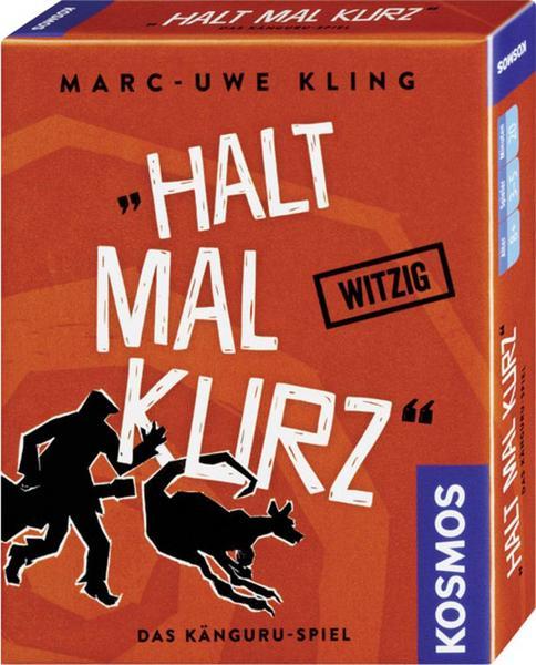 [Känguru Übersicht] günstige Marc-Uwe Kling Spiele bei Bol.de mit Füllartikel: z.B. Halt mal kurz - Das Känguru Kartenspiel