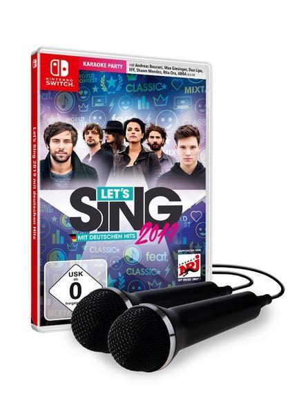 Let's Sing 2019 mit Deutschen Hits2 Mikrofone (Nintendo Switch) [BOL.de]