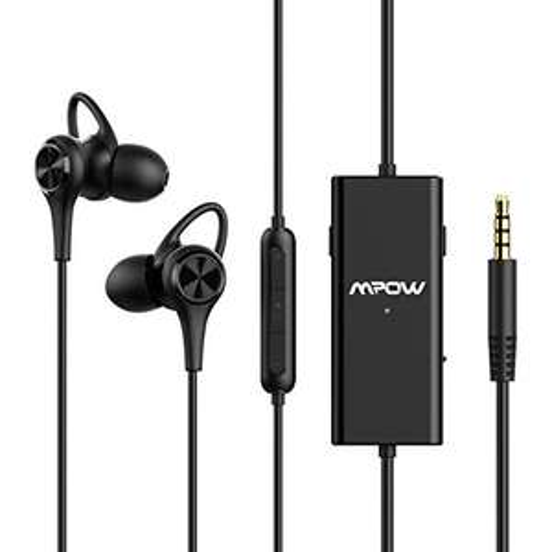 Mpow In-Ear Kopfhörer mit Active Noise Cancelling (3,5mm Klinkenanschluss, 15h ANC)