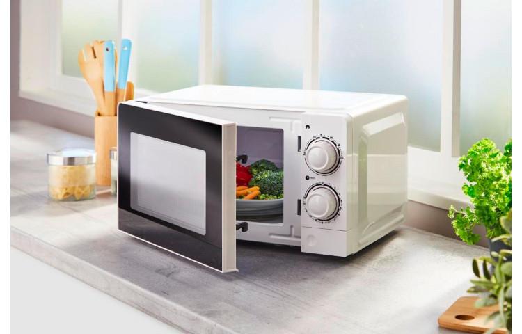 [Poco-Filiale] Mikrowelle P70J20L-V7 (700W, 6 Leistungsstufen, 20l Garraum, 30-Minuten-Timer, Drehknöpfe)