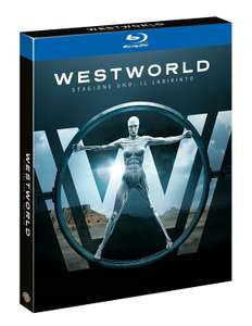 2x Westworld - Staffel 1: Das Labyrinth (Blu-ray) für 20,48€ (Amazon IT)