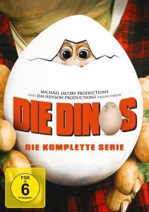 Die Dinos - Die komplette Serie (9 DVDs) für 16,38€ (bol.de)