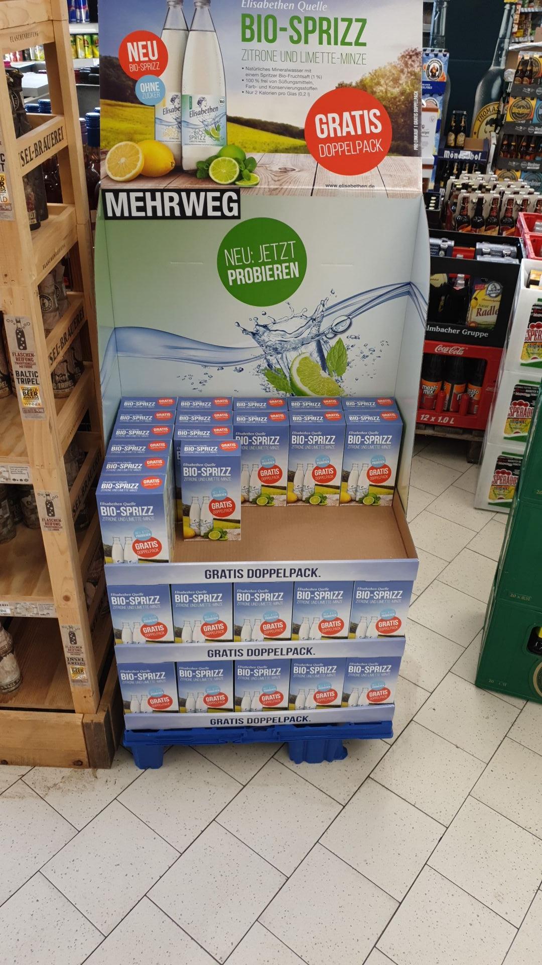 [Lokal] Wiesbaden toom - Gratis Doppelpack Bio-Spritz