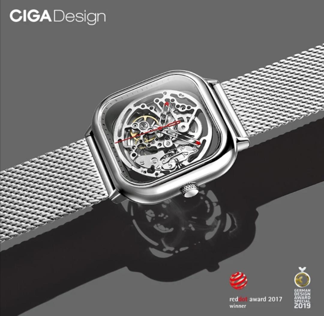 [Aliexpress] CIGA Mechanische Uhr mit Saphirglas
