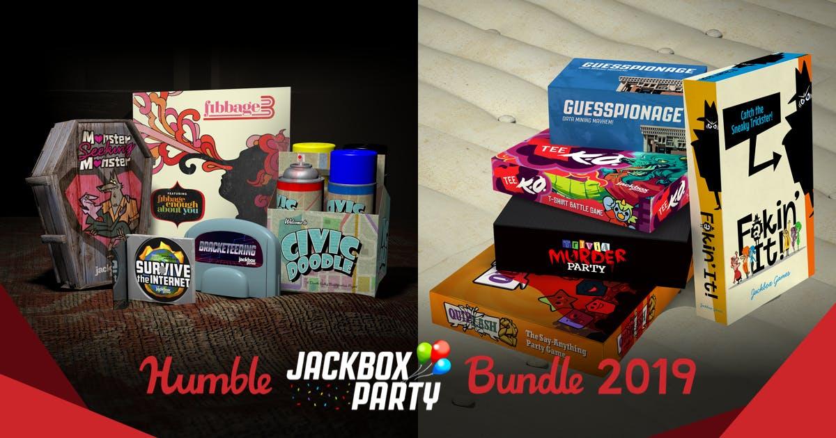 HUMBLE JACKBOX PARTY BUNDLE 2019 (Steam) ab 0,89€
