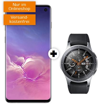 Samsung Galaxy S10 mit Watch 46mm LTE im Debitel Vodafone (10GB, Allnet) mtl. 31,99€ und einmalig 79€