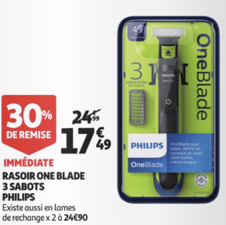 Philips OneBlade QP2520/20 für 17,49€ [Auchan Grenzdeal FR]