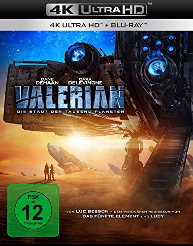 Valerian - Die Stadt der tausend Planeten [4K Ultra HD] [Blu-ray] (Amazon Prime)