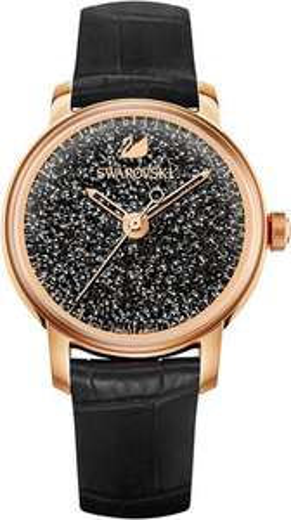 Swarovski Crystalline Hours Uhr, Schwarz