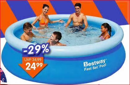Bestway Pool Fast-Set 305 x 76 cm (Ø x H) für nur 24,99 Euro [Jawoll]