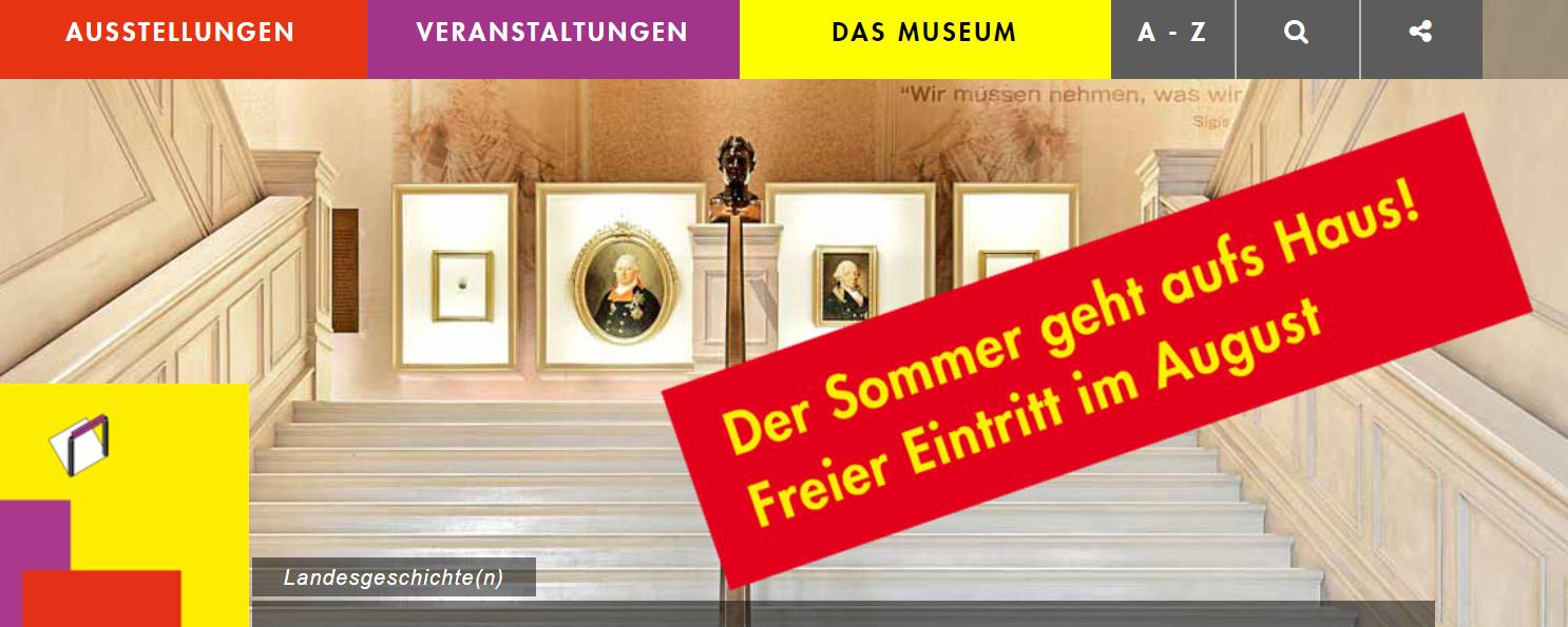 [Stuttgart] Haus der Geschichte Baden-Württembergs kostenfrei im August