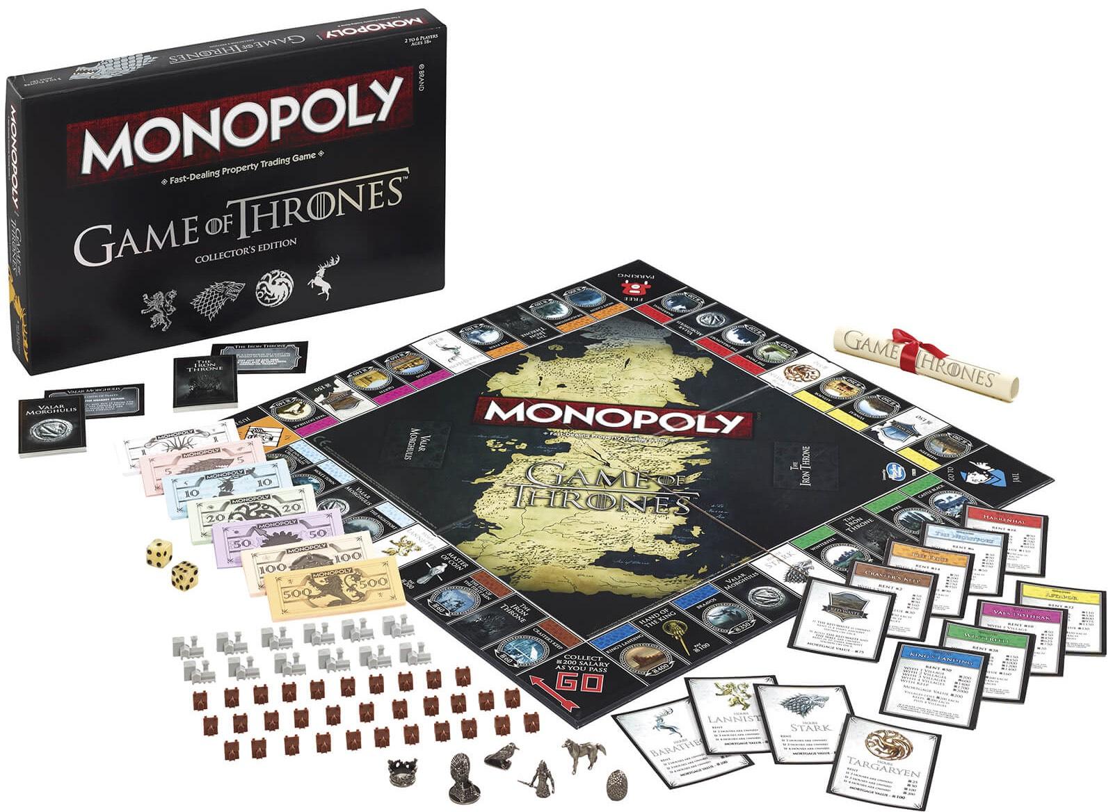 Monopoly Game of Thrones Edition für 17,70€ inkl. Versand [Englisch]