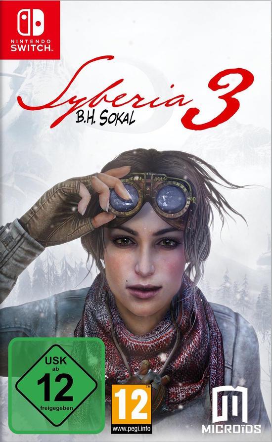 Syberia 3 (Switch) für 19,99€ (GameStop)