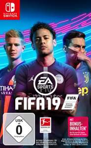 FIFA 19 (Switch) für 19,99€ (Saturn)