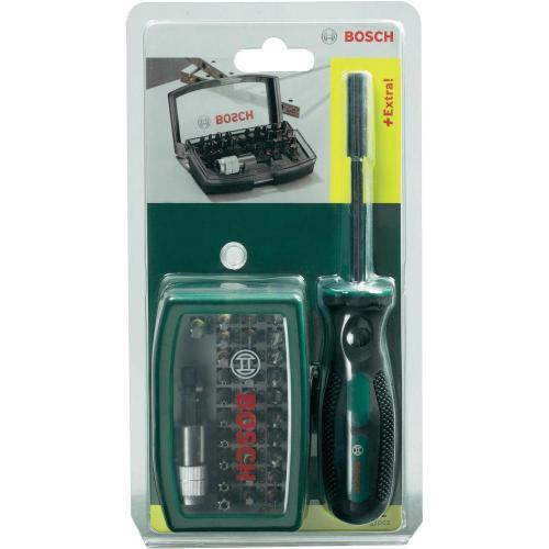 Bosch 32-tlg. Schrauberbit-Set + Handschraubendreher, 9,99 Euro inkl Versand