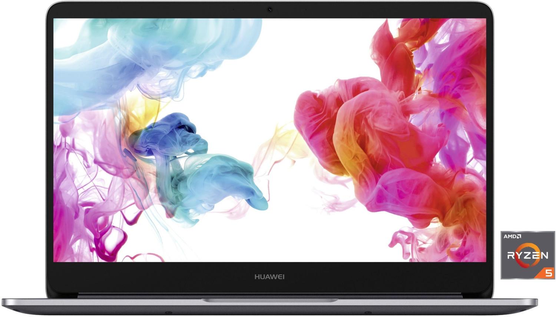 """Huawei MateBook D (14"""", IPS matt, FHD, Ryzen 5 2500U, 8GB RAM, 256GB SSD, USB-C mit PD, 57.4Wh-Akku, Tastaturbel., Win10, 1.45kg)"""