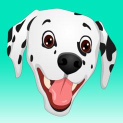 iOS: Dalmoji - Dalmatiner Emojis- und Stickerspacket kostenlos