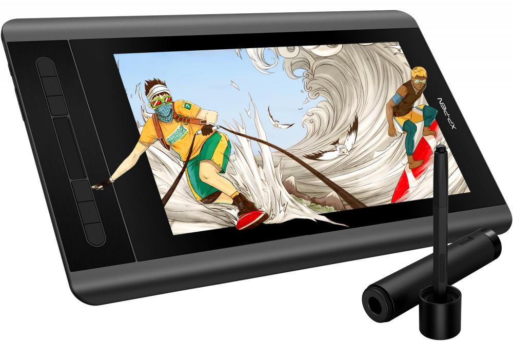 """Grafiktablett mit Bildschirm XP-PEN Artist 12 + 7,95€ RSP (11,6"""", IPS, FHD, 5080lpi, kabelloser Stift, 8192 Druckstufen, HDMI, USB)"""