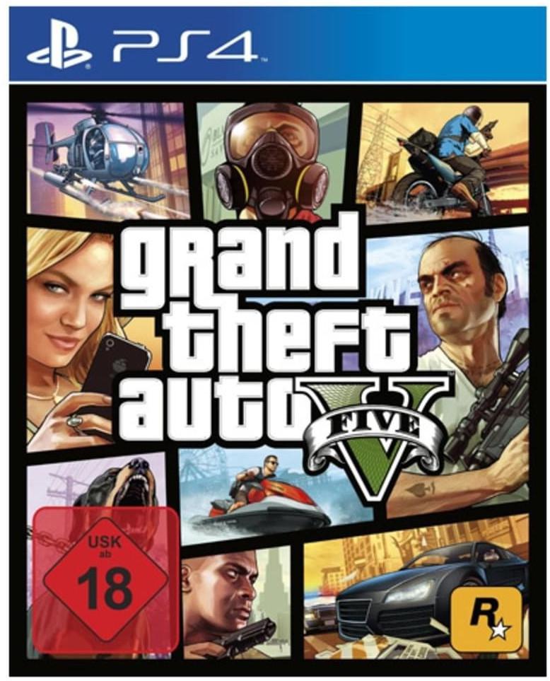 Grand Theft Auto V (PS4 & Xbox One) für je 14,99€ (Saturn & Media Markt)