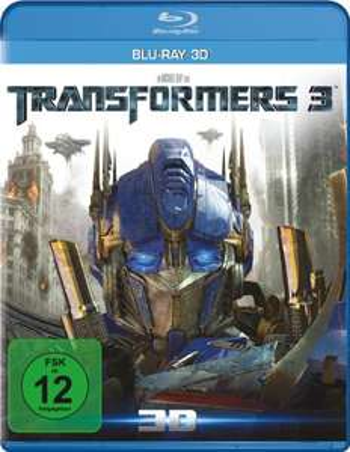 Transformers 3 - Die dunkle Seite des Mondes (3D Blu-ray) für 4,99€ (Amazon Prime)
