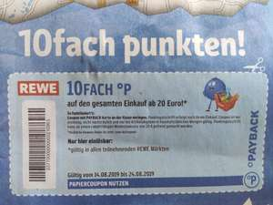 Lokal: 10-fache Payback Punkte Region Hannover