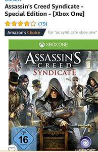 Asssassins Creed Syndicate für Xbox One