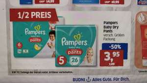 Pampers Baby Dry Pants Einzel-Packs @Budnikowsky