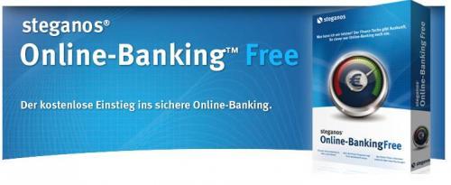Steganos bringt Free-Version von Online Banking heraus